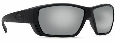 67258fc8262 Costa Del Mar Sunglasses Tuna Alley Ta01 Oscglp Blackout silver Glass 580G  Lens