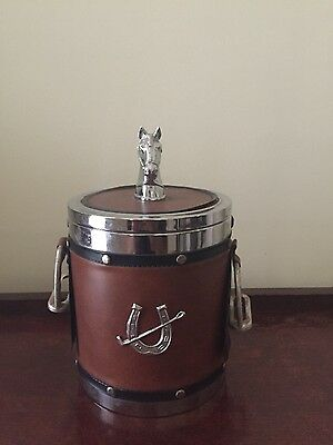 Vintage Retro Horse Themed Ice Bucket