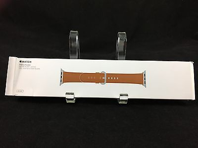 Brand New Apple Watch Classic Buckle Saddle Brown Leather 38mm MPWC2AM/A