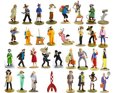 Tim & Struppi Figuren - Tintin Collectible models (Original Moulinsart 32 vers.)