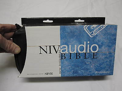 ZONDERVAN NIV New Testament Audio Bible Orchestrated 12 Cassettes NEW IN BOX