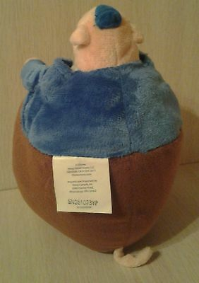 Disney Chicken Little friend Runt a Large Pig Plush 9 Inch stuffed animal toy