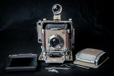 Linhof Super Technika IV 4X5 Field Camera+Schneider 150mm f5.6 lens