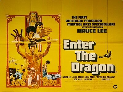 16mm Feature - Enter the Dragon Bruce Lee 1973 Widescreen