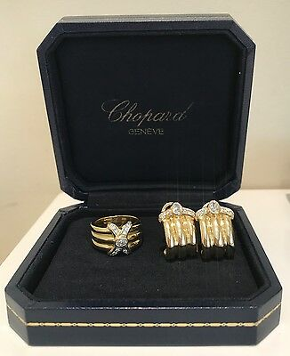 Chopard Earrings & Ring Set
