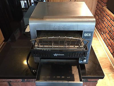 Holman Star Quartz Convection Conveyor Oven QCS-1-350C BREAD Toaster WORKS 100%