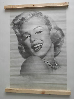 Marilyn Monroe Poster Large Vintage Original 1977 Pace Int. No 75 Was Unopened
