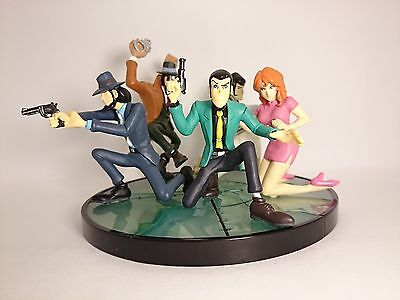 "Lupin the 3rd 2.5-4"" Figure 5pcs Complete Authentic Banpresto Japan k#15637"