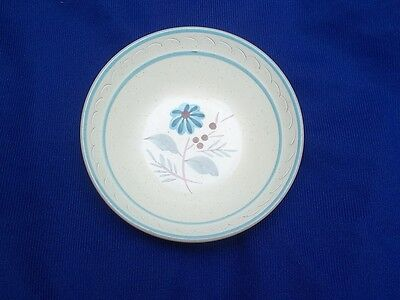"""Stangl  """" Blue Daisy """"  Cereal  Bowl"""