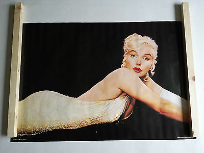 Marilyn Monroe Poster Large Vintage Original 1981 Pace 65P3334 Was Unopened