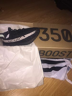 Authentic Yeezy Boost 350 V2 Black/white
