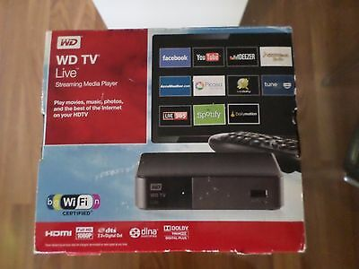 Disque dur multimédia Wester Digital Passerelle multimédia WD TV Live Wifi