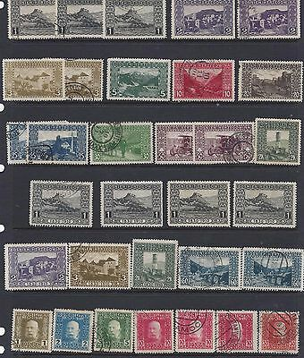 1906-14   Bosnia & Herzegovina     Sc#30-74 Assortment Mostly Used