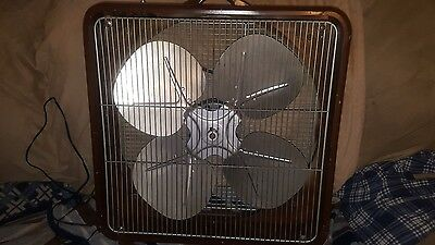 LASKO BREEZE MAKER VINTAGE BOX FAN 1950s 2 Speed