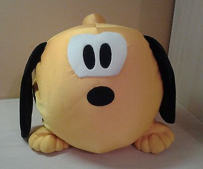 Genuine Walt Disney World Pluto Round Microbeads Puppy Dog Plush 10""
