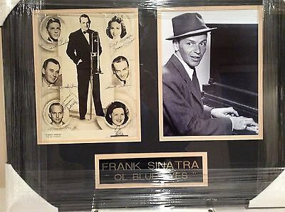 Tommy Dorsey Big Band Leader With 7 Autographs Including Frank Sinatra