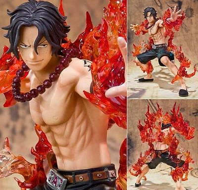Japanese Anime One Piece Portgas D Ace Battle Ver PVC Figure Figurine Toy Gift