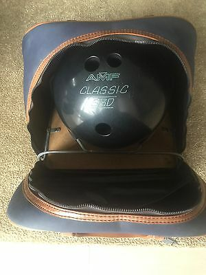 bowling ball with bag, AMF Classic S3D