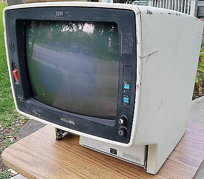VINTAGE IBM 3278-2 Video Terminal Monitor