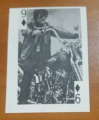 PETER FONDA 1969 Globe Imports 9 of Diamonds ROOKIE CARD EASY RIDER WILD ANGELS