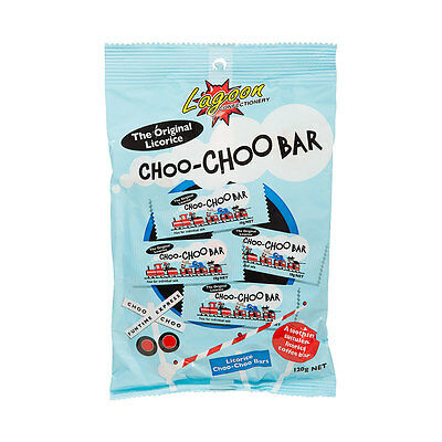3x120g Choo Choo Bar Original Licorice Choo Choo Bar -1 Bag: 12x10g (Total 120g)