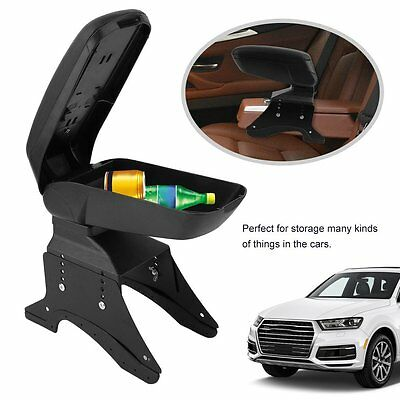 Details about  Universal Black Quality Arm rest Armrest Centre Console for car