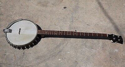 Gibson RB-170 RB170 5string Banjo Guitar Long Neck Used 1960's Rare READ LISTING