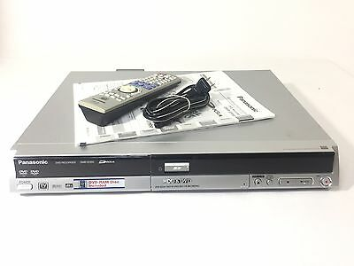 Panasonic DMR-EH50 DVR Hard Drive 100GB HDD W/ Remote & Manual - Tested