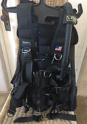 Zeagle Zeus BCD SCUBA BC Size Large Weight Integrated Buoyancy Compensator