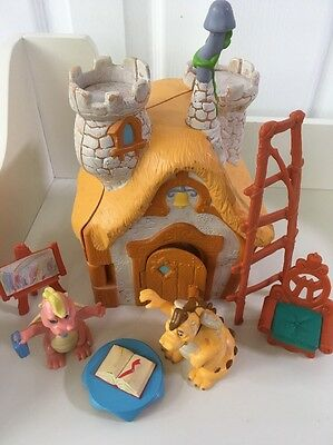 Very Rare Dragon Tales School In The Sky House Playset Org