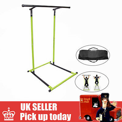 Pull Up Mate Station Portable Pull Up Bar Dip Dipping Station with Carry Bag