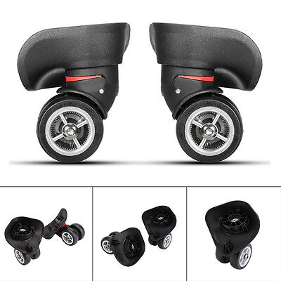 2Pcs Replacement Luggage 360° Swivel Spinner Suitcase Caster Wheels Repair