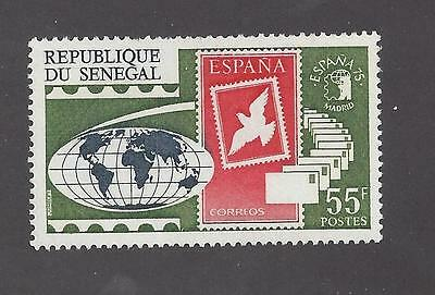Senegal -  410 - 411 - Mnh - 1975 - Stamp Expo Madrid And Paris