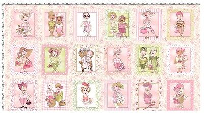 On The Mend * Womens Health Quilt Panel * In Stock * Free Post *