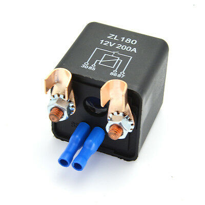 200A Truck Motor Automotive High Current Relay 12V/24V High Power Split Charger