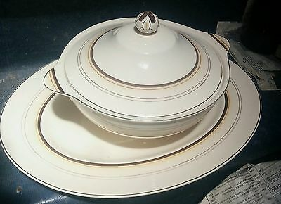 Dinner Set Royal Ivory John Maddock and Sons Hotel B&B Cafe Vintage RARE