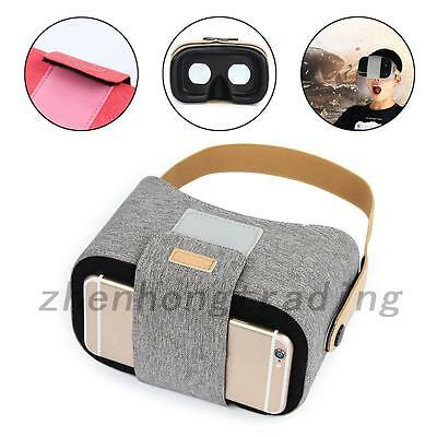 Headset VR BOX Virtual Reality Glasses 3D For Smartphone Samsung Iphone6s 7 Plus