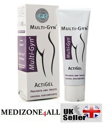 50ml MULTI-GYN ACTIGEL BACTERIAL VAGINOSIS BV TREATMENT PREVENTION
