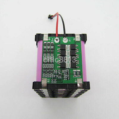 Hot 3S 11.1V 12.6V 25A W/Balance 18650 Li-ion Battery PCB Protection Board AU