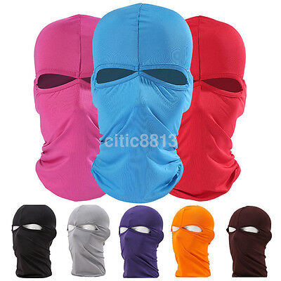 Breathable Man's Elastic Full Cover Neck Face Mask Balaclava Cycling Ski Mask A^