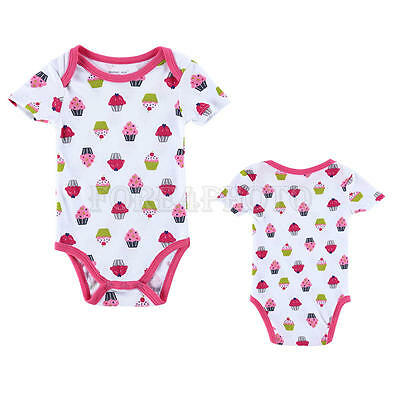 Newborn Kids Toddler Baby Girl Clothes Bodysuit Romper Jumpsuit Playsuit Outfits