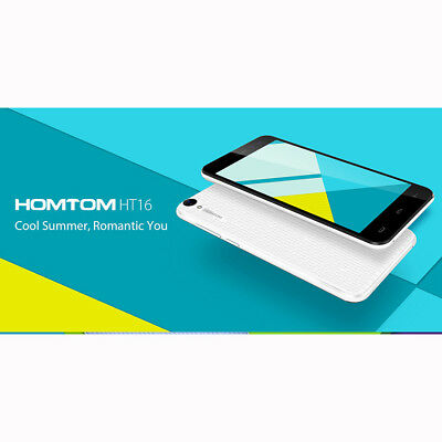 Homtom HT16 Android 6.0 5.0 inch 3G Smartphone Quad Core 8GB GPS A-GPS BT4.0