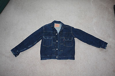 Levis big E rare vintage denim jacket 507XX  Size 40