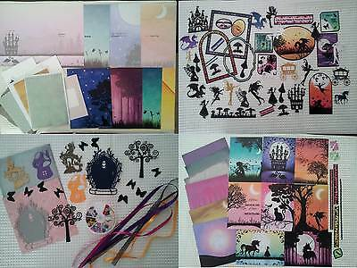 Fairy Twilight Kingdom Enchanted Cardmaking Kit. Bumper selection - clearout.