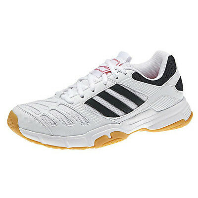 Adidas BT Boom Indoor Court Shoes Squash / Badminton - White Size US 6 / AU 5.5