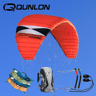 Kit N7 Traction Kite Powerkite 4-Line Control Advanced Player Boarding Sports