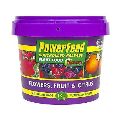 Fertiliser Powerfeeed 1kg Flower Fruit and Citus Controlled Release