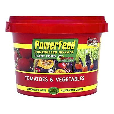 Fertiliser Powerfeeed 500g Tomato and Veg Controlled Release