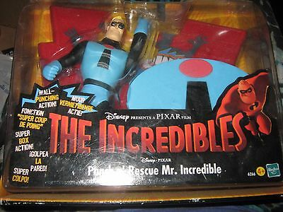 The Incredibles 'Punch and Rescue' Mr. Incredible, original, unopened packaging
