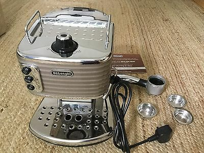 delonghi coffee machine - Champagne Scultura, Which?, Barely Used,This Season
